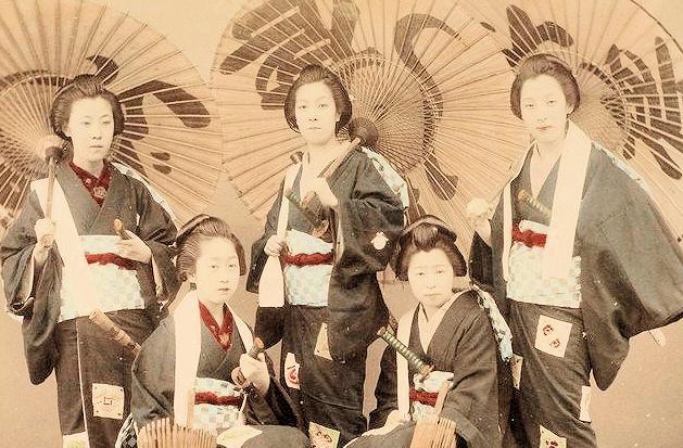 Histoire des les femmes guerri res au japon fudoshinkan for Origine des arts martiaux
