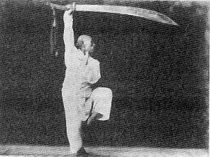 Kung-fu-Bagua-zhang-sabre
