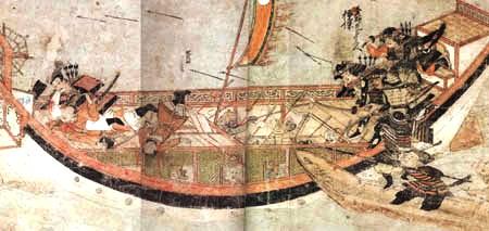 bushi-attaque-bateau-mongol