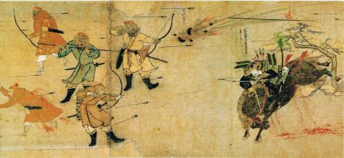mongols-face-samourai-japonais