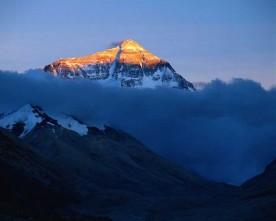Le sommet de la montagne