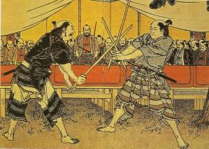 Duel-samourais