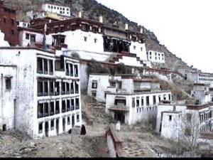 Monastère de Sera, l'un des trois sièges près de Lhassa.