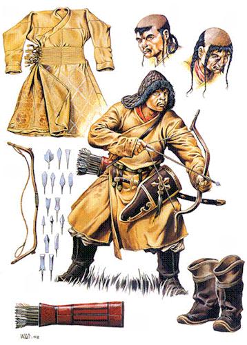 archer mongol