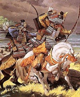 archers cavalier japonais