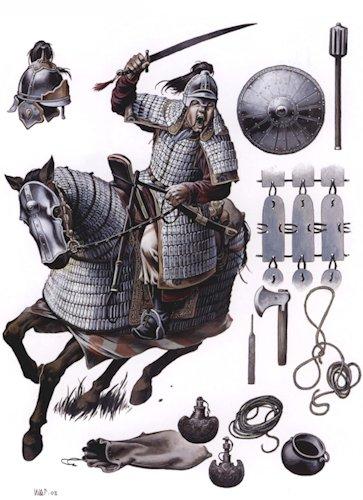 cavalerie lourde mongole