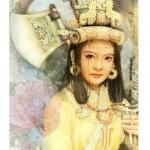 portrait Fu Hao la femme à la hache