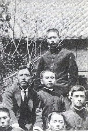 Itosu et Funakoshi