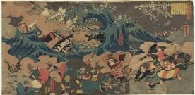 Invasions mongoles du Japon 5 – 1281, le souffle des esprits