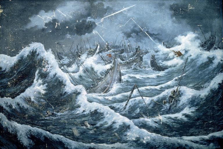 typhon japon flotte mongole