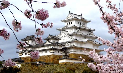 Les châteaux japonais 3 : anatomie d'un château japonais – Himeji-jo